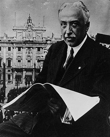 NietoAlcalá Zamora. Fotografía de 1931
