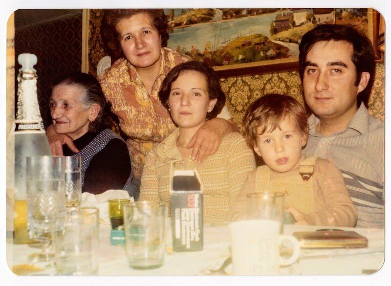La familia de la abuela Mercedes en Julio de 1936