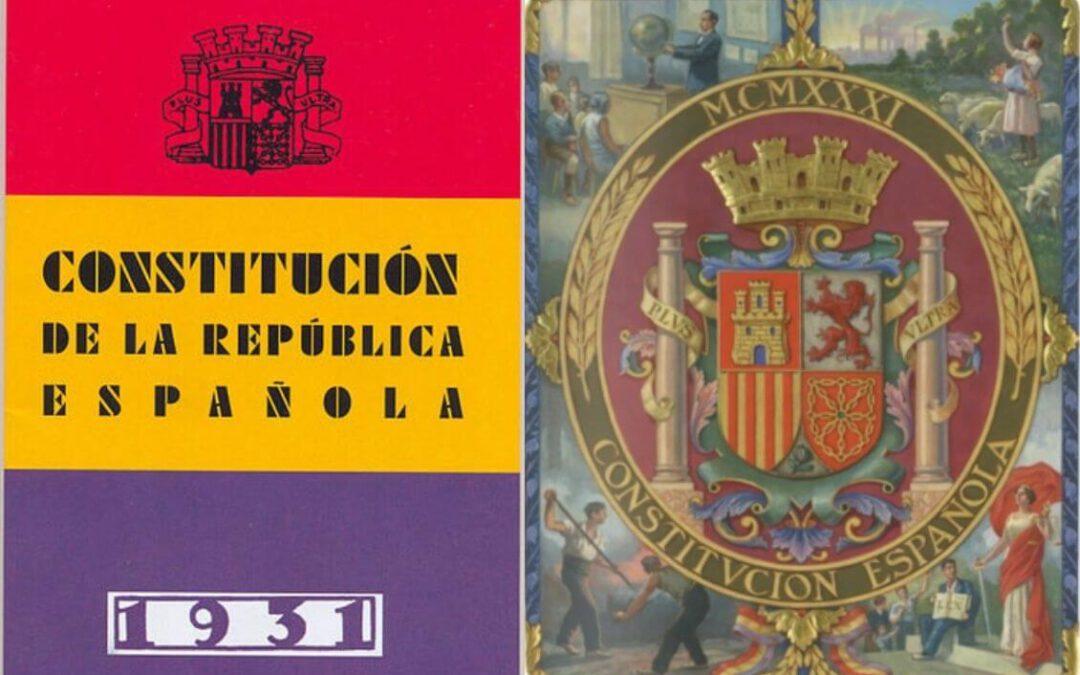 La Segunda República Española. El Gobierno Provisional y la Redacción de la Constitución de 1931.