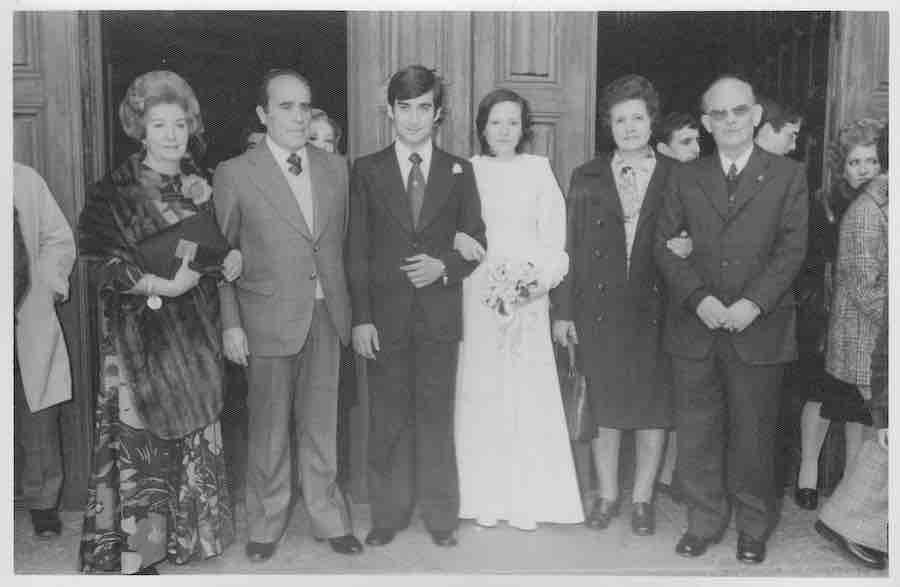 La familia Lahuerta-Duato en Julio de 1936.
