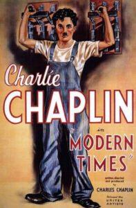 """Película de Charles Chaplin """"Tiempos Modernos"""""""