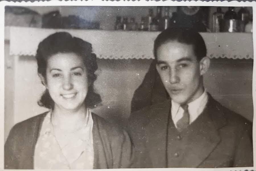 La familia de la abuela Marisa en Julio de 1936